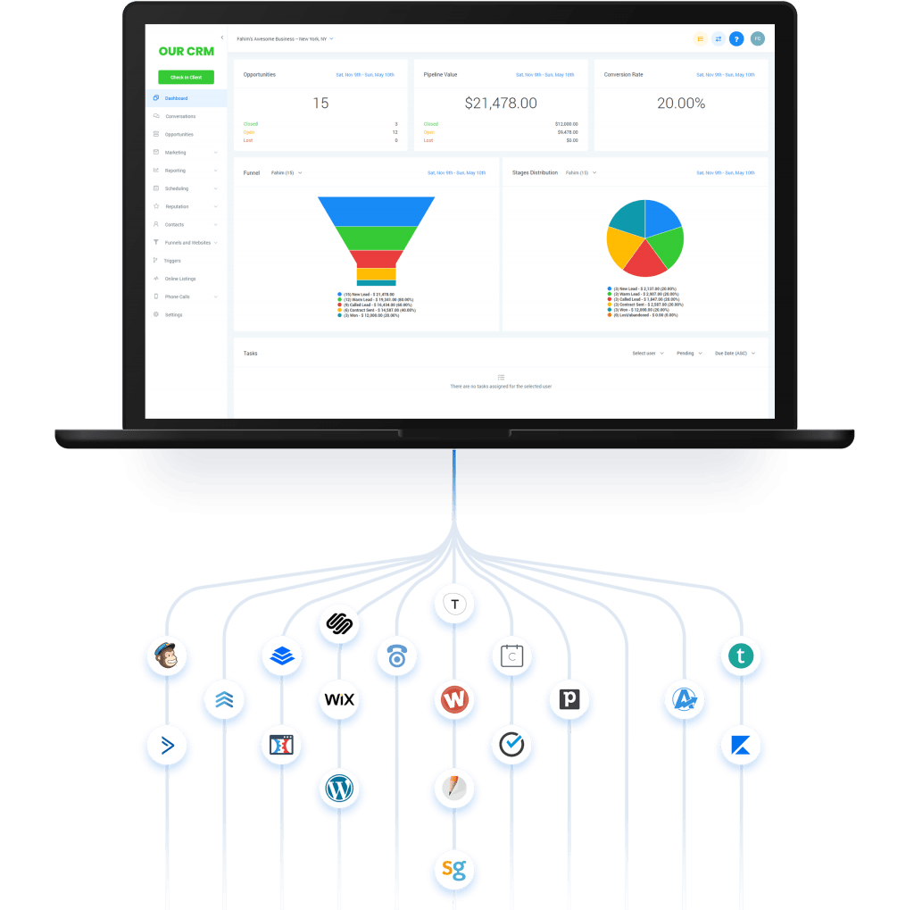 High Level is clearly better than Clickfunnels.